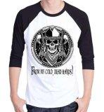 Iklan Sz Graphics Dead Hand Pria T Shirt Pria Kaos Raglan Pria Hitam