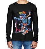 Promo Toko Sz Graphics Fox T Shirt Long Sleeve Pria Kaos Lengan Panjang Pria T Shirt Pria Kaos Pria T Shirt Fashion Hitam
