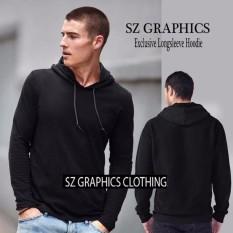 Sz Graphics Groups T Shirt Pria Kaos Pria Longsleeve Hoodie Pria-Hitam