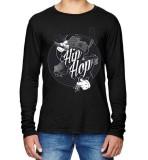 Diskon Sz Graphics Hip Hop T Shirt Long Sleeve Pria Kaos Lengan Panjang Pria Kaos Pria T Shirt Pria T Shirt Fashion Hitam Branded