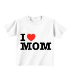 Review Sz Graphics I Love Mom T Shirt Anak Kaos Anak T Shirt Fashion Anak Putih