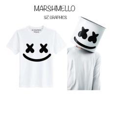 Jual Sz Graphics Marshmello T Shirt Pria Wanita Kaos Pria Wanita White Dki Jakarta