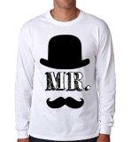 Jual Sz Graphics Mr T Shirt Long Sleeve Pria Kaos Lengan Panjang Pria T Shirt Pria Kaos Pria T Shirt Fashion Putih Grosir