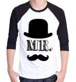 Toko Sz Graphics Mr T Shirt Pria Kaos Raglan Pria T Shirt Kaos Distro Pria T Shirt Pria Hitam Putih Sz Graphics