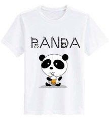 Sz Graphics Panda T Shirt Wanita Kaos Wanita T Shirt Fashion Putih Di Dki Jakarta