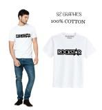 Jual Sz Graphics Rockstar T Shirt Pria Kaos Pria T Shirt Fashion Pria T Shirt Kaos Pria Putih Sz Graphics Murah