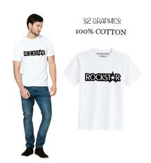 Perbandingan Harga Sz Graphics Rockstar T Shirt Pria Kaos Pria T Shirt Fashion Pria T Shirt Kaos Pria Putih Di Dki Jakarta