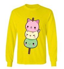 Promo Sz Graphics Sweet Candy T Shirt Long Sleeve Wanita Kaos Lengan Panjang Wanita Kaos Wanita T Shirt Wanita T Shirt Fashion Kuning