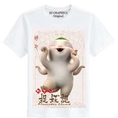 Sz Graphics T Shir Wanita Kaos Wanita T Shirt Fashion Wanita Wu Ba Monster Hunt Terbaru