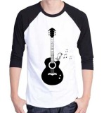 Jual Sz Graphics T Shirt Raglan Pria Guitar Melody T Shirt Pria Wanita Kaos Pria Wanita T Shirt Fashion Termurah