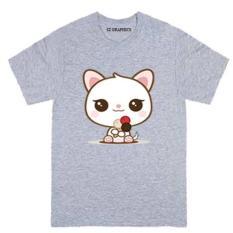 Diskon Sz Graphics T Shirt Wanita Kaos Wanita Lovely Pink Grey Dki Jakarta