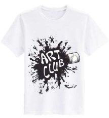 Toko Sz Graphics T Shirt Wanita Kaos Wanita Art Club T Shirt Fashion Kaos Wanita T Shirt Kaos Distro Wanita Putih Dki Jakarta