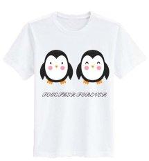 Beli Sz Graphics Together Forever T Shirt Wanita Kaos Wanita T Shirt Fashion Wanita T Shirt Kaos Distro Wanita Putih Sz Graphics Dengan Harga Terjangkau