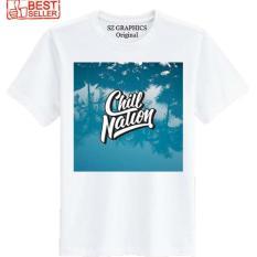 Toko Sz Graphics Chill Nation Water T Shirt Pria Wanita Kaos Pria Wanita T Shirt Fashion Pria Wanita T Shirt Distro Pria Wanita Kaos Distro Pria Wanita Putih Sz Graphics Dki Jakarta