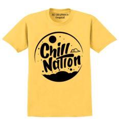 Cuci Gudang Sz Graphics Chill Nation T Shirt Pria Wanita Kaos Pria Wanita T Shirt Fashion Pria Wanita T Shirt Distro Wanita Kaos Distro Pria Wanita Kuning