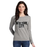 Review Toko Sz Graphics New York City2 Long Sleeve Wanita Kaos Lengan Panjang Wanita T Shirt Wanita Kaos Wanita T Shirt Fashion Wanita T Shirt Kaos Distro Misty Online