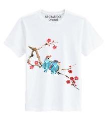 Jual Beli Sz Graphics Spring T Shirt Wanita Kaos Wanita T Shirt Fashion Wanita T Shirt Distro Wanita Kaos Distro Wanita Putih