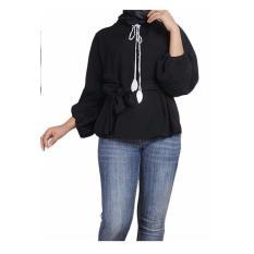 Harga T Os Atasan Wanita Tangan Balon Naya Black Merk T Os