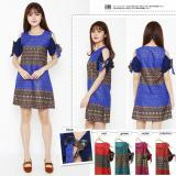 Beli T Os Dress Batik Silk Ava Terbaru