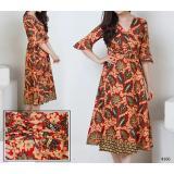 Review T Os Dress Kimono Palem Batik T Os