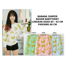 Jual T Os Jaket Sweater Banana Putih Online Di Dki Jakarta