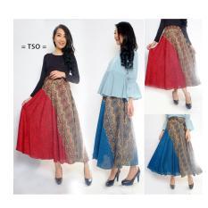 Tips Beli T Os Rok Panjang Batik Hana Red Yang Bagus
