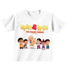 Toko T Shirt Anak Kaos Anak T Shirt Upin Ipin Putih Termurah