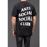 Miliki Segera T Shirt Anti Social Social Club Hitam