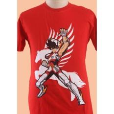 T-Shirt Kaos Anime Saint Seiya Pegasus - Jsf6vq