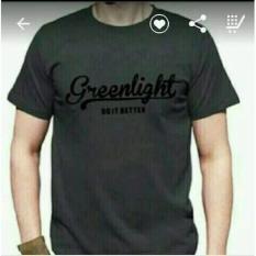 Spek T Shirt Kaos Kaos Pria Greenlight Ukuran S Grey