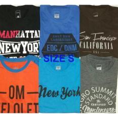 T-Shirt Kaos Nevada Cole Details