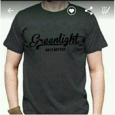 T Shirt Kaos Oblong Kaos GREENLIGHT