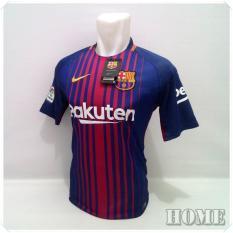 Beli T Shirt Kaos Olahraga Bola Baju Bola Pakaian Pria Sport Atasan Pria Football Futsal Jersey Bola Murah Barca Home Lengkap