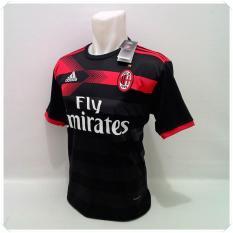 Spesifikasi T Shirt Kaos Olahraga Bola Baju Bola Pakaian Pria Sport Atasan Pria Football Futsal Jersey Bola Murah Milan 3Rd Beserta Harganya