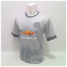 Beli T Shirt Kaos Olahraga Bola Baju Bola Pakaian Pria Sport Atasan Pria Football Futsal Jersey Bola Murah Mu 3Rd Seken