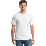 Dapatkan Segera T Shirt Kaos Polos O Neck Pria Katun Bambu Keren Putih