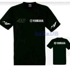 T-Shirt Kaos Pria Baju MOTO GP VR 46 Yamaha
