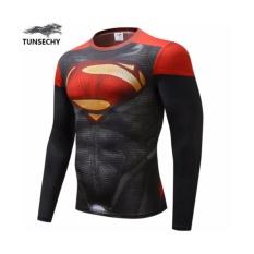 Harga T Shirt L Super Hero Avengers Body Ramping Bak Super Hero Superman Polyester Jersey Cocok Untuk Olah Raga Unbranded Online