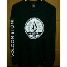 T-Shirt  Longsleeve  Kaos Lengan Panjang VOLCOM Stone