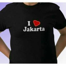 T-Shirt Mars21  I Love Jakarta -