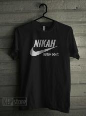 T-Shirt Nikah Butuh Doit  Kaos Gildan Kepstore