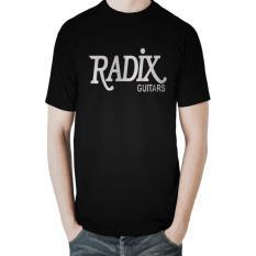 Iklan T Shirt Radix Guitars Hitam