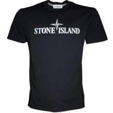 T-Shirt Stone Island - Hitam