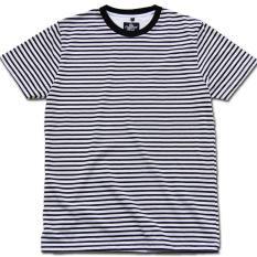 Perbandingan Harga Kaos Strip Garis Monochrome The Compact Shirt Di Jawa Barat