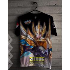 T Shirt Zilong Mobile Legend Indonesia Diskon 50