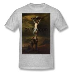 T-shirts For Men GOD.png Men's T-Shirt - intl