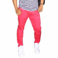 Katalog T W Long Chinos Pants Merah Terbaru