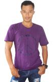 Toko T W Men T Shirt Peace Ungu Lengkap Bali