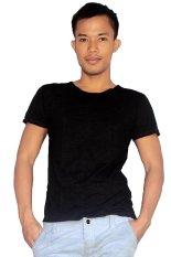 Harga T W Men T Shirt Seamless Polos Hitam Bali