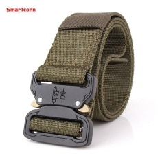 Toko Tactical Belt Combat Militer Equipment Men Nylon Metal Buckle Knock Off Sabuk Us Army Soldier Carry Waist Belt 125 Cm Intl Oem